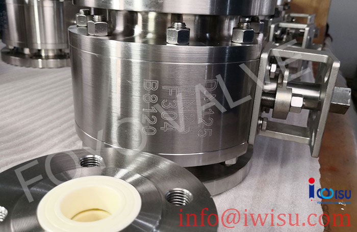 DIN STANDARD CERAMIC BALL VALVES FOR PCI SYSTEM - 4