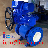 HIGH TEMPERATURE AND HIGH PRESSURE CERAMIC BALL VALVE