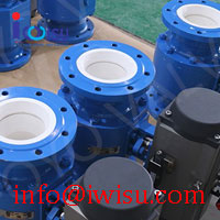 PNEUMATIC TRUNNION MOUNTED CERAMIC BALL VALVES
