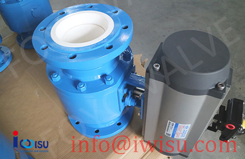 PNEUMATIC TRUNNION MOUNTED CERAMIC BALL VALVES - 2