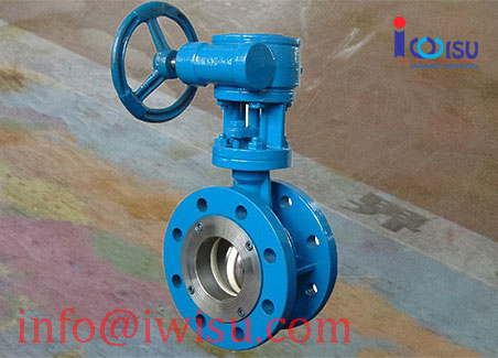 FLANGED TYPE BUTTERFLY VALVES