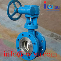 FLANGED TYPE CERAMIC BUTTERFLY VALVES
