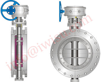 Flanged Ends butterfly valves