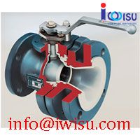 LINED BALL VALVES - FULLY-LINED TANK DRAIN