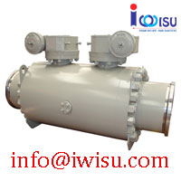 TRUNNION MOUNTED BALL VALVES - DOUBLE BLOCK AND BLEED