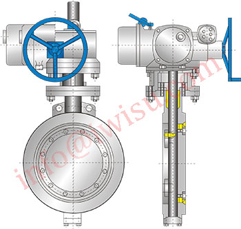 Wafer Type ends butterfly valves