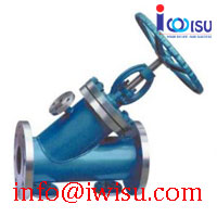 BJ45H Y TYPE JACKET GLOBE VALVE