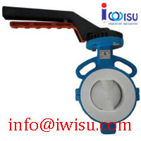 D71F4 PTFE FULL LINED BUTTERFLY VALVE