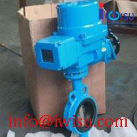 D971J ELECTRIC WAFER BUTTERFLY VALVE