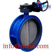 NBR RUBBER SEATED BUTTERFLY VALVE