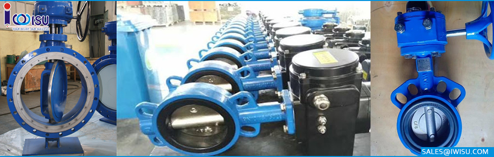 Butterfly valves hse carbon steel